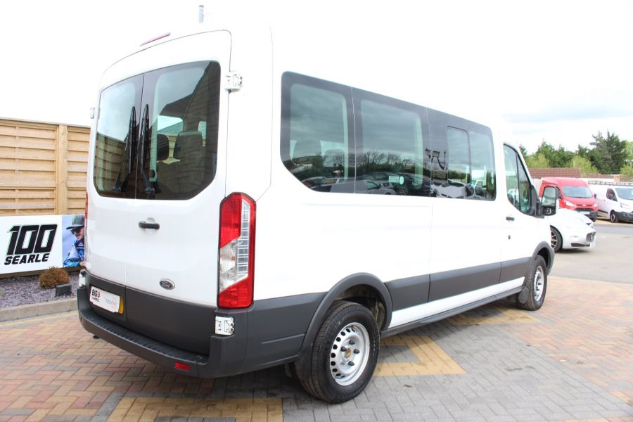 FORD TRANSIT 410 TDCI 125 L3 H2 15 SEAT BUS LWB MEDIUM ROOF - 6975 - 5