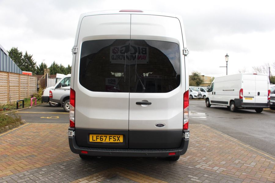 FORD TRANSIT 410 TDCI 155 L3 H3 TREND 15 SEAT BUS LWB HIGH ROOF RWD - 9122 - 4