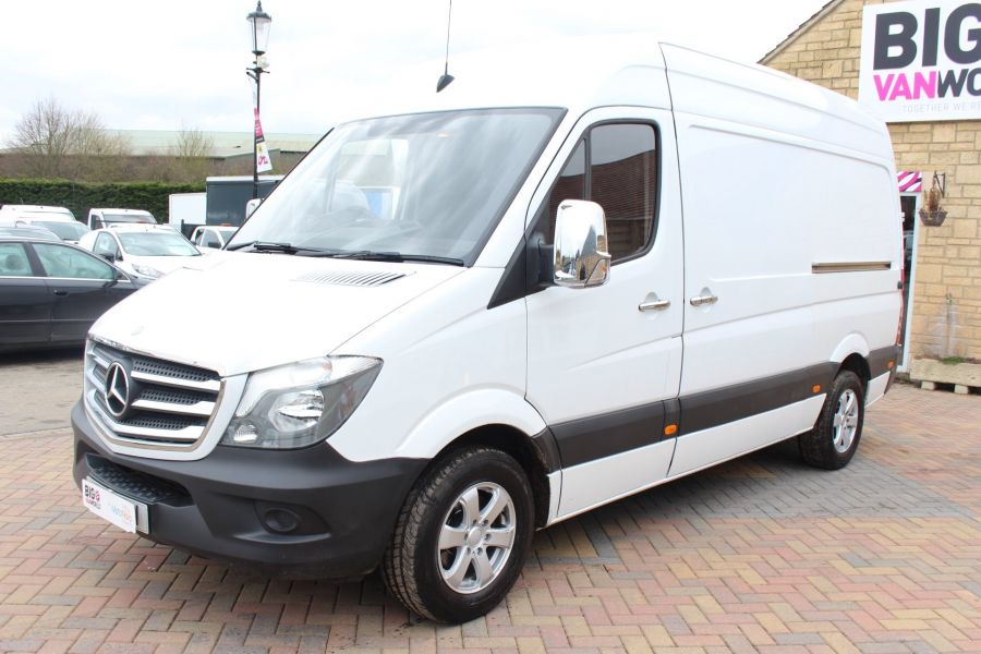 MERCEDES SPRINTER 313 CDI MWB HIGH ROOF - 7486 - 8