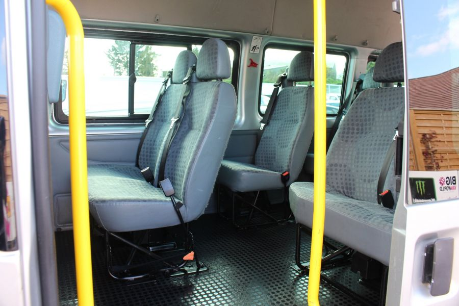 FORD TRANSIT 430 TDCI 135 LWB EL HIGH ROOF 17 SEATS BUS RWD - 6765 - 19