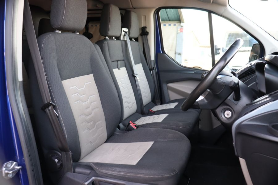 FORD TRANSIT CUSTOM 310 TDCI 130 L1H1 LIMITED DOUBLE CAB 6 SEAT CREW VAN FWD - 10553 - 12