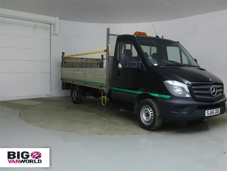 MERCEDES SPRINTER 313 CDI 129 LWB ALLOY DROPSIDE WITH TAIL LIFT - 8886 - 1