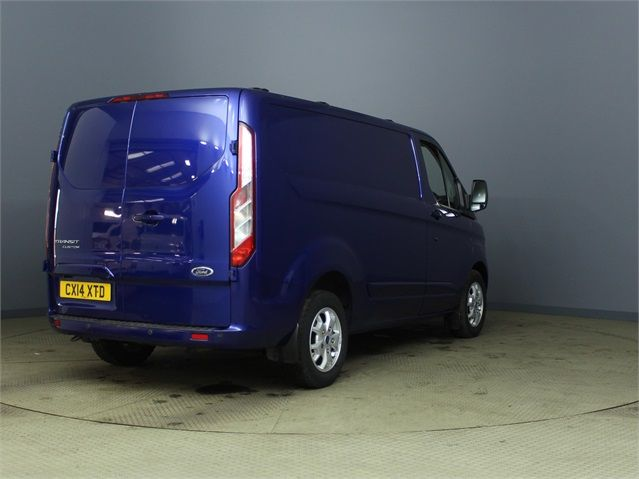 FORD TRANSIT CUSTOM 270 TDCI 155 LIMITED L1 H1 SWB LOW ROOF FWD - 6586 - 2