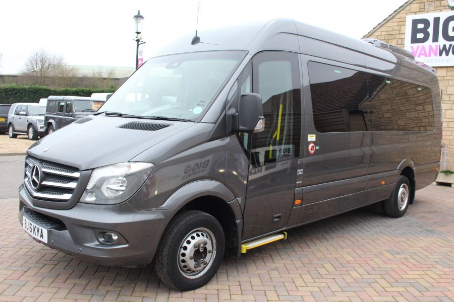 MERCEDES SPRINTER 516 TRAVEL 45 XLWB 16 SEAT SINGLE DECK COACH - 8762 - 9