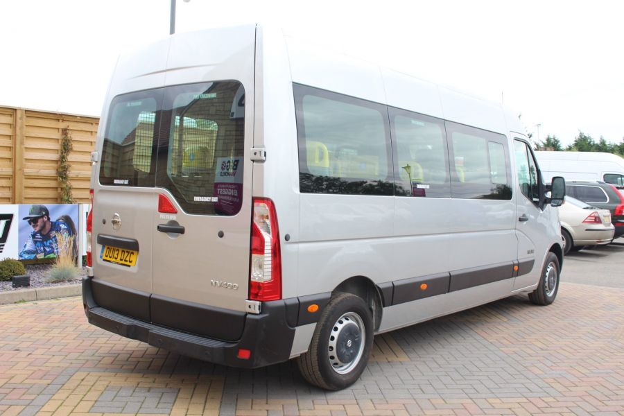 NISSAN NV400 F35 DCI 125 L3 H2 SE LWB MEDIUM ROOF 13 SEAT BUS - 6485 - 5
