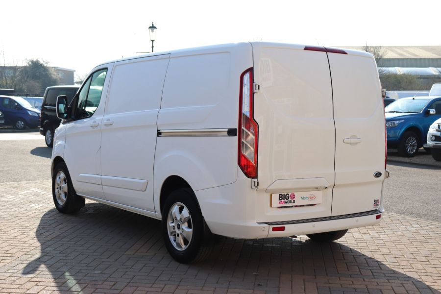 FORD TRANSIT CUSTOM 340 TDCI 130 L1H1 LIMITED SWB LOW ROOF FWD - 10566 - 8