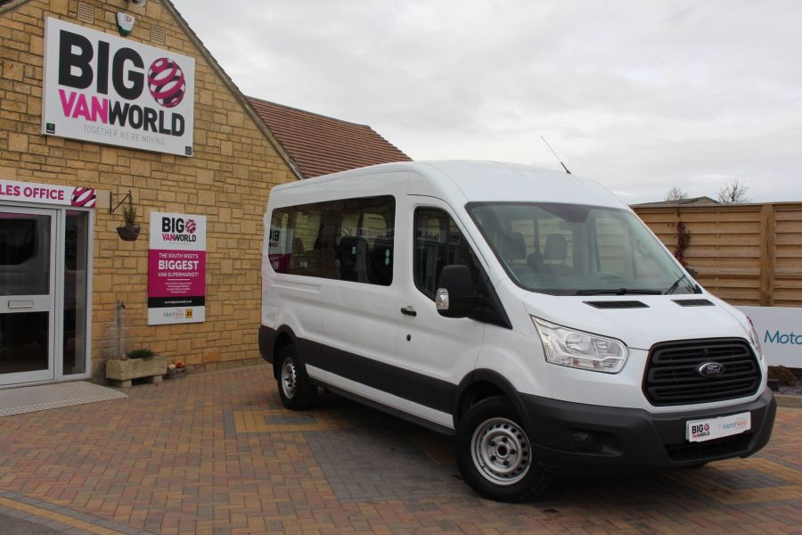 FORD TRANSIT 410 TDCI 125 L3 H2 15 SEAT BUS LWB MEDIUM ROOF - 6975 - 2