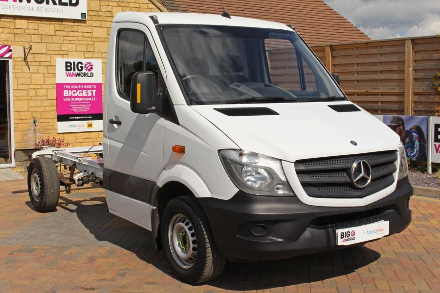 MERCEDES SPRINTER 313 CDI 129 MWB SINGLE CAB CHASSIS - 12090 - 4