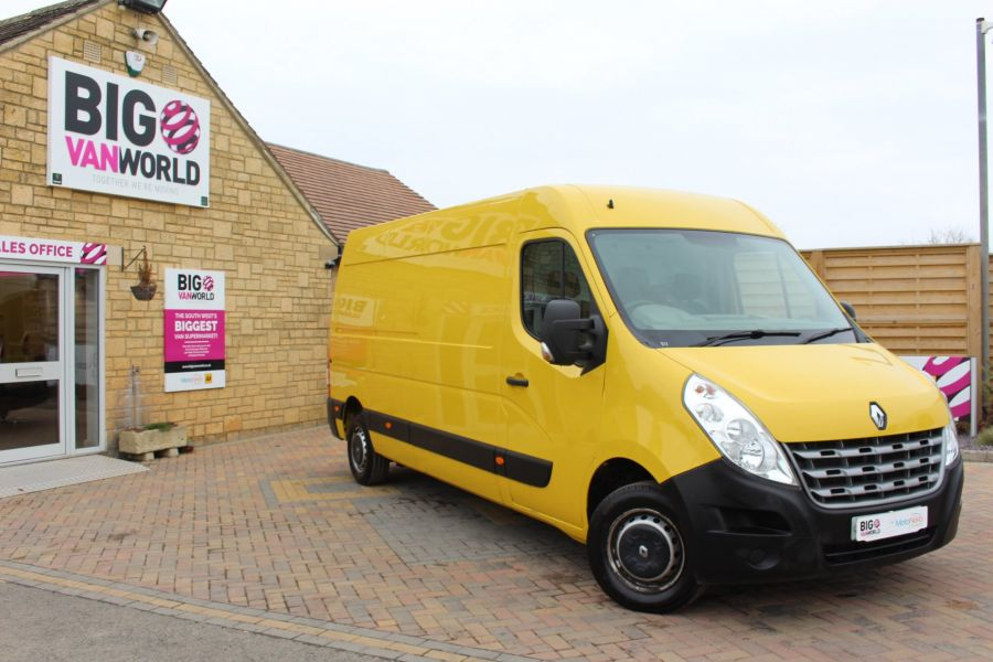 RENAULT MASTER LM35 DCI 125 LWB MEDIUM ROOF - 7494 - 1