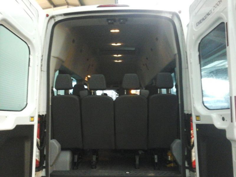 FORD TRANSIT 460 TDCI 125 L4H3 TREND 17 SEAT HIGH ROOF BUS DRW RWD - 10348 - 4
