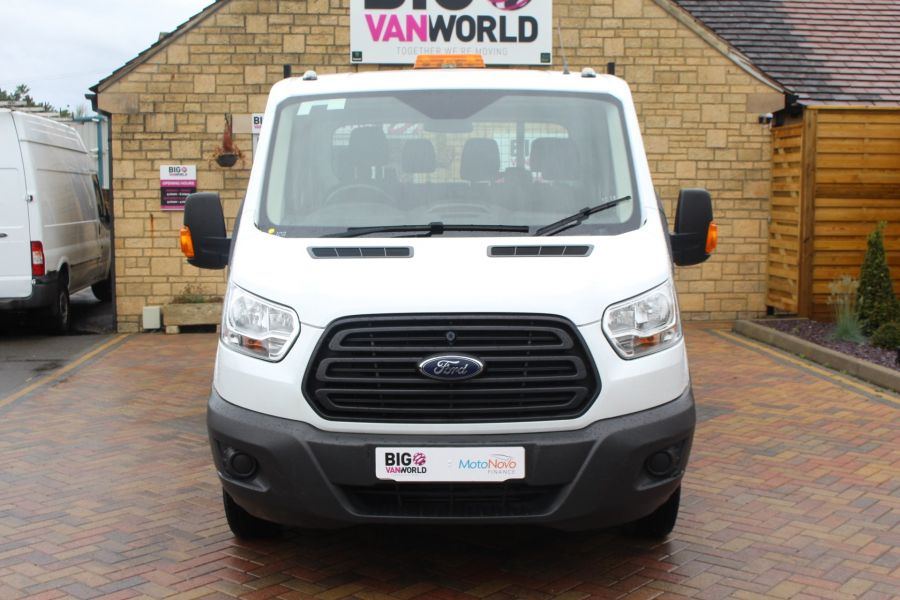 FORD TRANSIT 350 TDCI 125 L3 DOUBLE CAB STEEL TIPPER DRW - 6192 - 15
