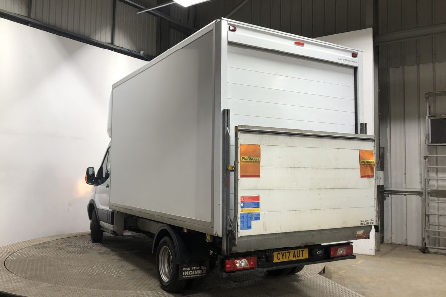 FORD TRANSIT 350 TDCI 130 L3 LWB 'ONE STOP' LUTO VAN WITH TAIL LIFT DRW RWD - 12071 - 4