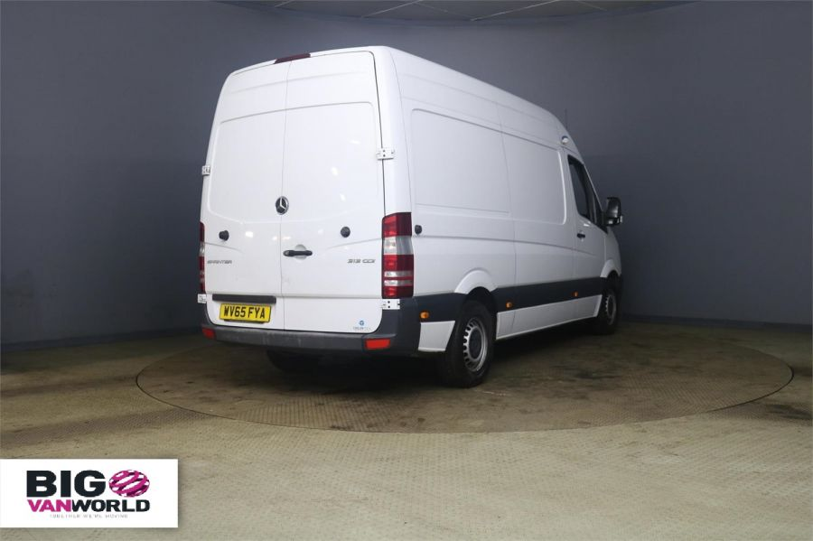 MERCEDES SPRINTER 313 CDI 129 MWB HIGH ROOF FRIDGE / FREEZER WITH OVERNNIGHT - 10181 - 2