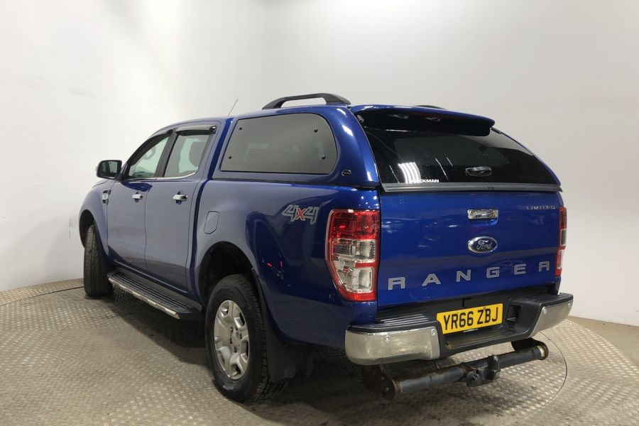 FORD RANGER TDCI 160 LIMITED 4X4 DOUBLE CAB WITH TRUCKMAN TOP - 12030 - 4