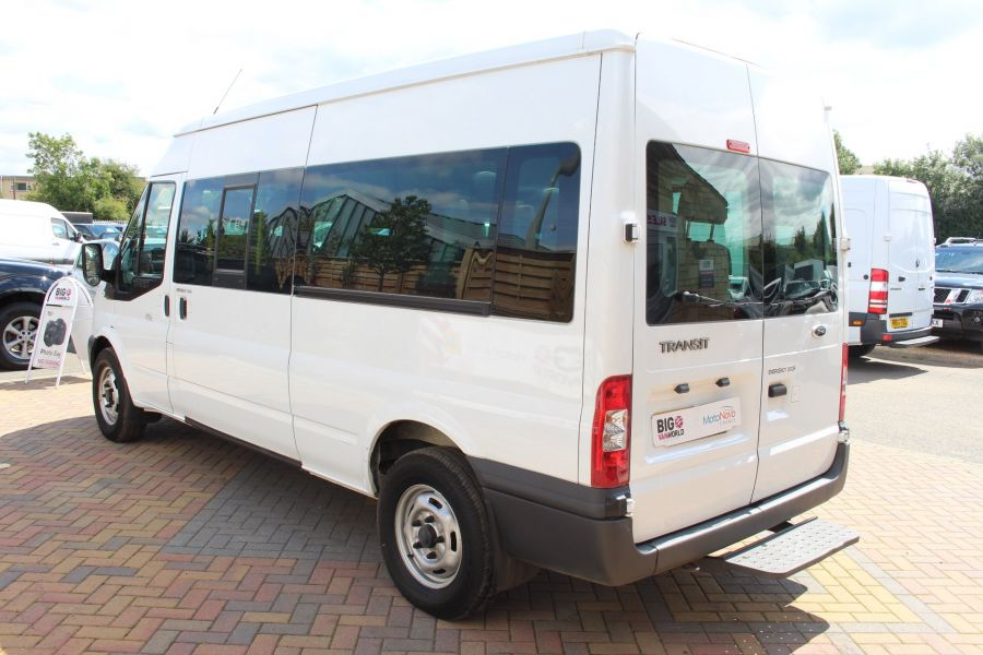 FORD TRANSIT 350 TDCI 135 LWB MEDIUM ROOF 14 SEAT BUS - 6413 - 7