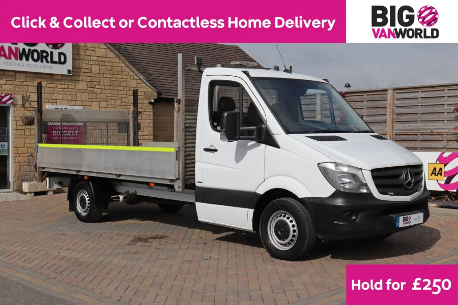 MERCEDES SPRINTER 314 CDI 140 LWB SINGLE CAB ALLOY DROPSIDE WITH TAIL LIFT  (14002) - 12361 - 1