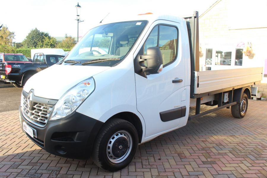 RENAULT MASTER LL35 DCI 125 BUSINESS LWB ALLOY DROPSIDE - 6657 - 8