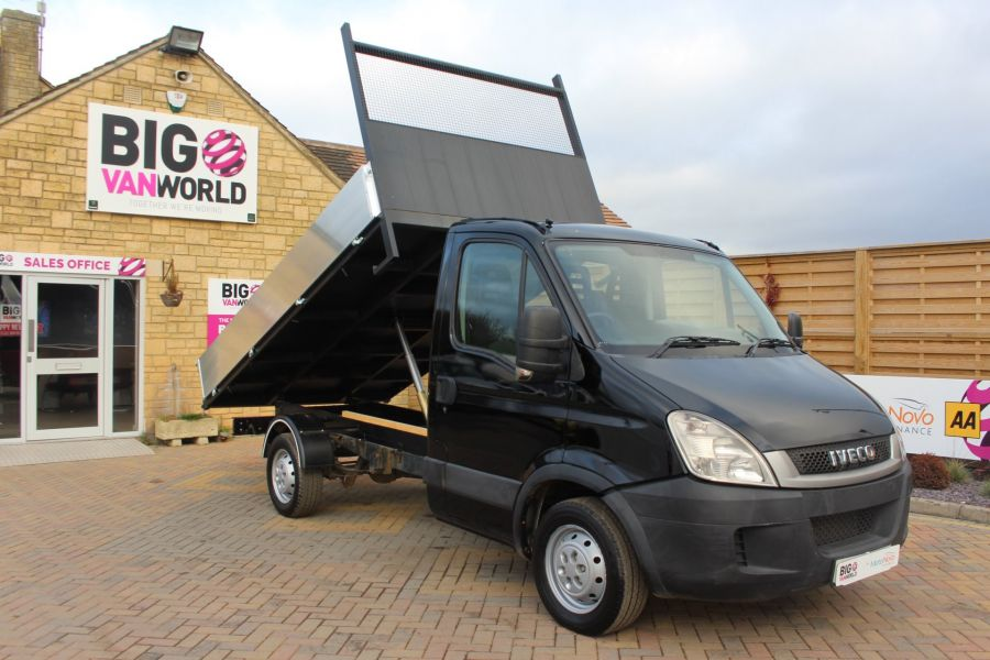 IVECO DAILY 35S13 SINGLE CAB ALLOY TIPPER - 5432 - 2