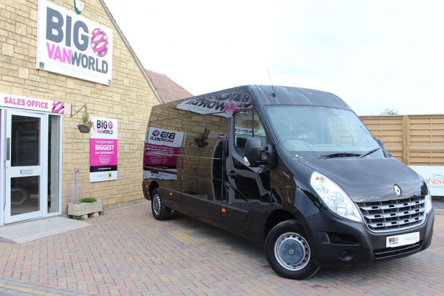 RENAULT MASTER LM35 DCI 125 LWB MEDIUM ROOF - 5779 - 1