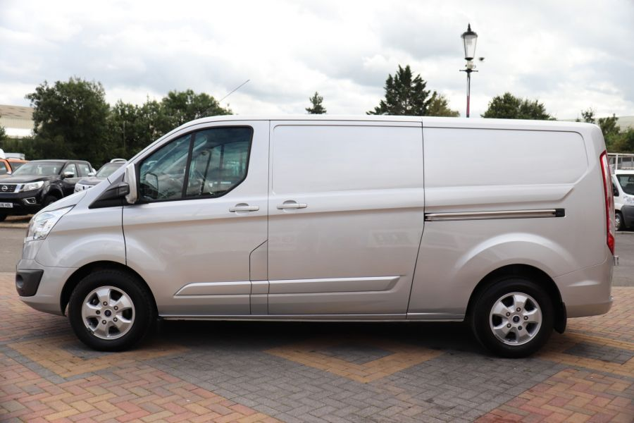 FORD TRANSIT CUSTOM 290 TDCI 130 L2H1 LIMITED LWB LOW ROOF FWD - 12272 - 11