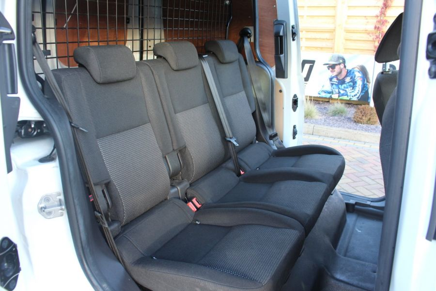 FORD TRANSIT CONNECT 220 TDCI 75 L1 H1 DOUBLE CAB 5 SEAT CREW VAN - 7184 - 19