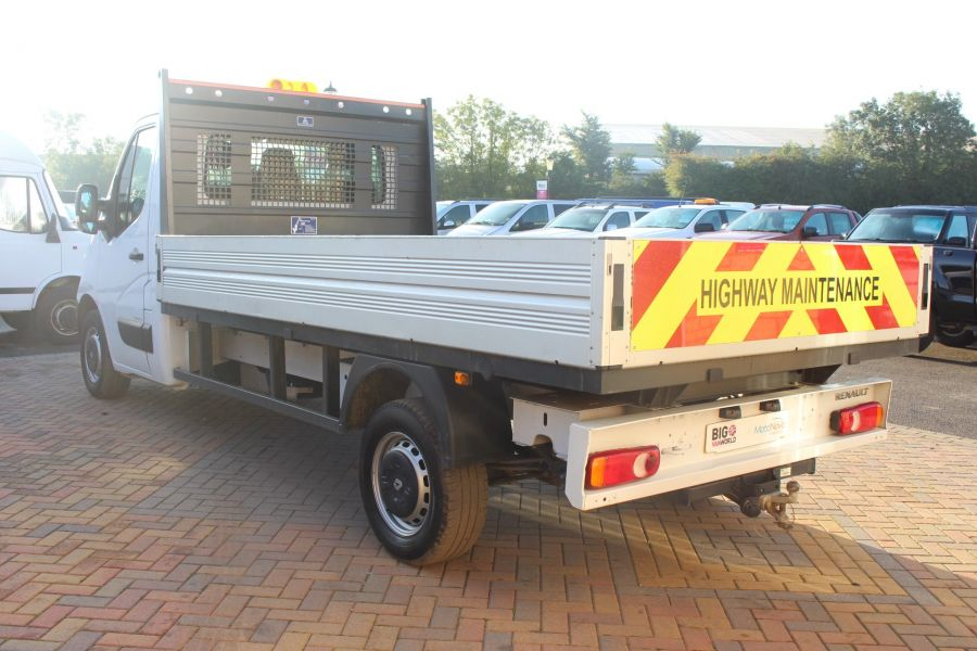 RENAULT MASTER LL35 DCI 125 BUSINESS LWB ALLOY DROPSIDE - 6657 - 7