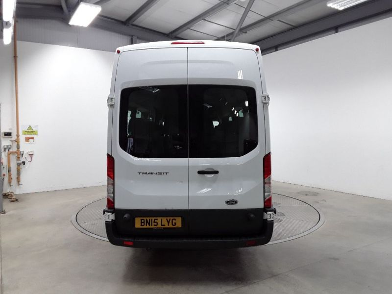 FORD TRANSIT 460 TDCI 125 L4H3 17 SEAT BUS HIGH ROOF DRW RWD - 11894 - 4