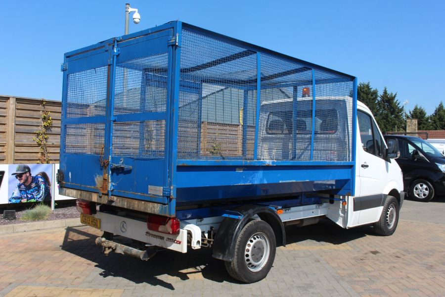 MERCEDES SPRINTER 313 CDI 129 MWB SINGLE CAB CAGED TIPPER - 9129 - 13
