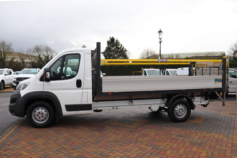 CITROEN RELAY 35 HEAVY HDI 150 ENTERPRISE L4 'ONE STOP' ALLOY DROPSIDE WITH TAIL LIFT - 10284 - 9
