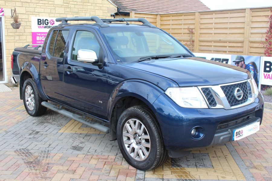 NISSAN NAVARA OUTLAW DCI 231 4X4 DOUBLE CAB WITH MOUNTAIN TOP - 7465 - 3