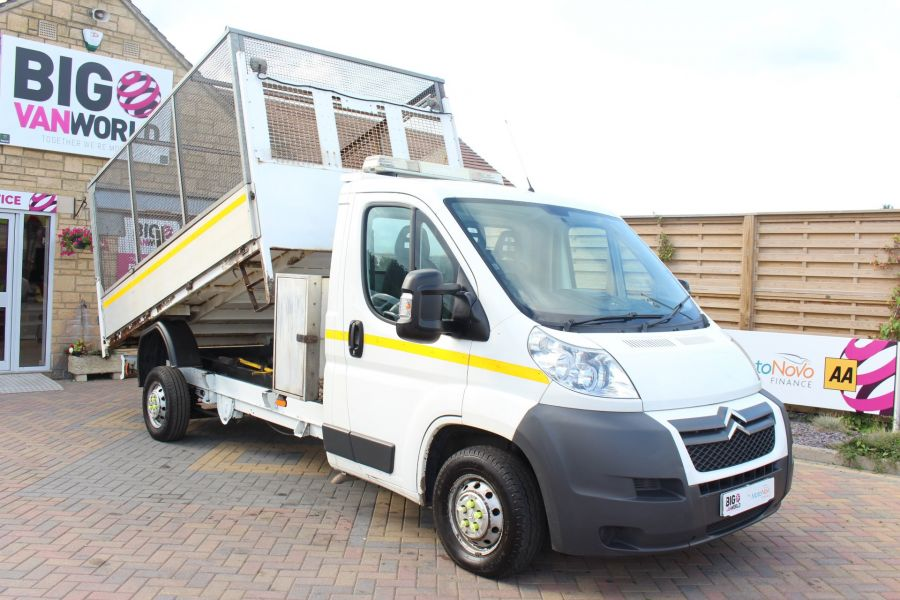 CITROEN RELAY 35 HDI 130 L3 LWB ALLOY TIPPER WITH CAGED - 8122 - 3