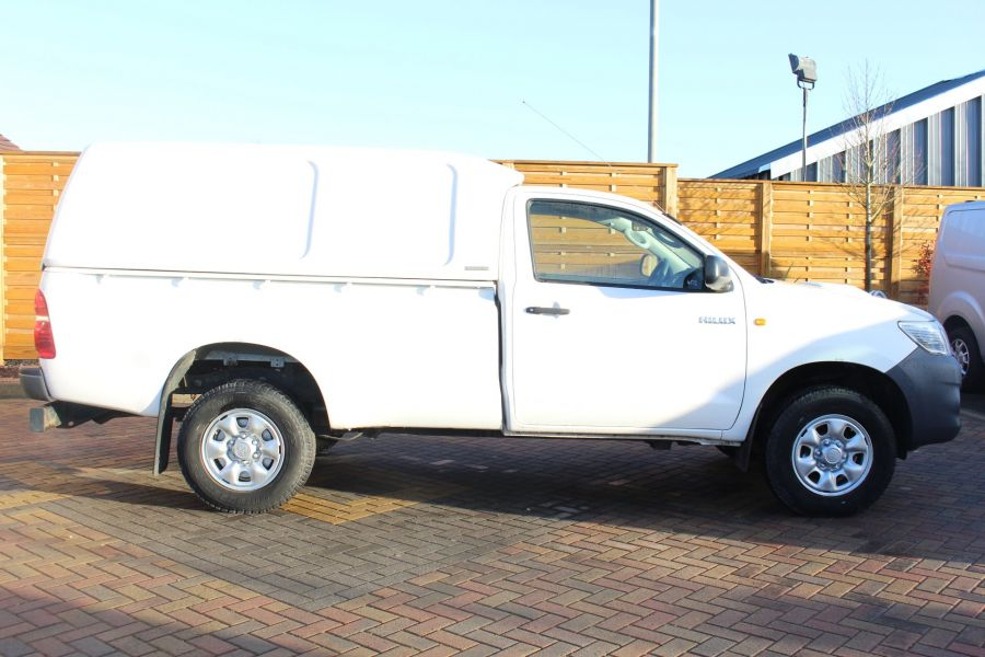 TOYOTA HI-LUX HL2 144 4X4 D-4D SINGLE CAB WITH TRUCKMAN TOP - 6962 - 4