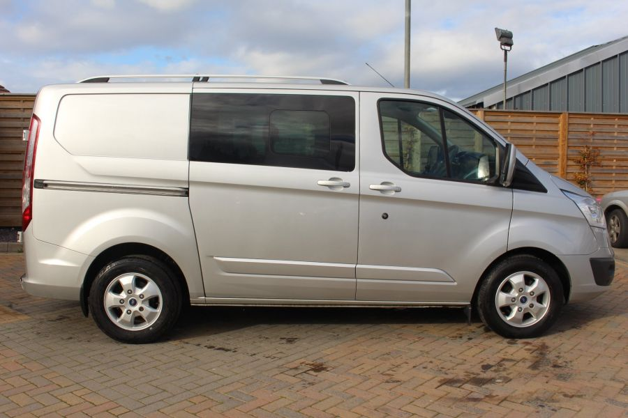 FORD TRANSIT CUSTOM 290 TDCI 170 L1 H1 LIMITED DOUBLE CAB 6 SEAT CREW VAN SWB LOW ROOF FWD  - 8973 - 4