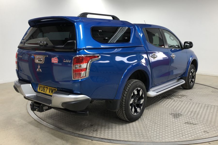 MITSUBISHI L200 DI-D 178 4WD BARBARIAN DOUBLE CAB WITH TRUCKMAN TOP  (13999) - 12243 - 5