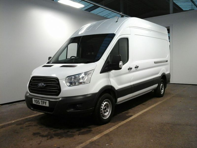 FORD TRANSIT 350 TDCI 125 L3 H3 LWB HIGH ROOF RWD - 8698 - 1
