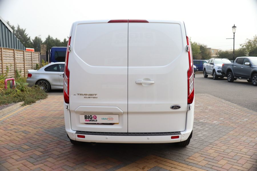 FORD TRANSIT CUSTOM 310 TDCI 130 L1H1 LIMITED DOUBLE CAB 6 SEAT CREW VAN SWB LOW ROOF FWD - 9964 - 6