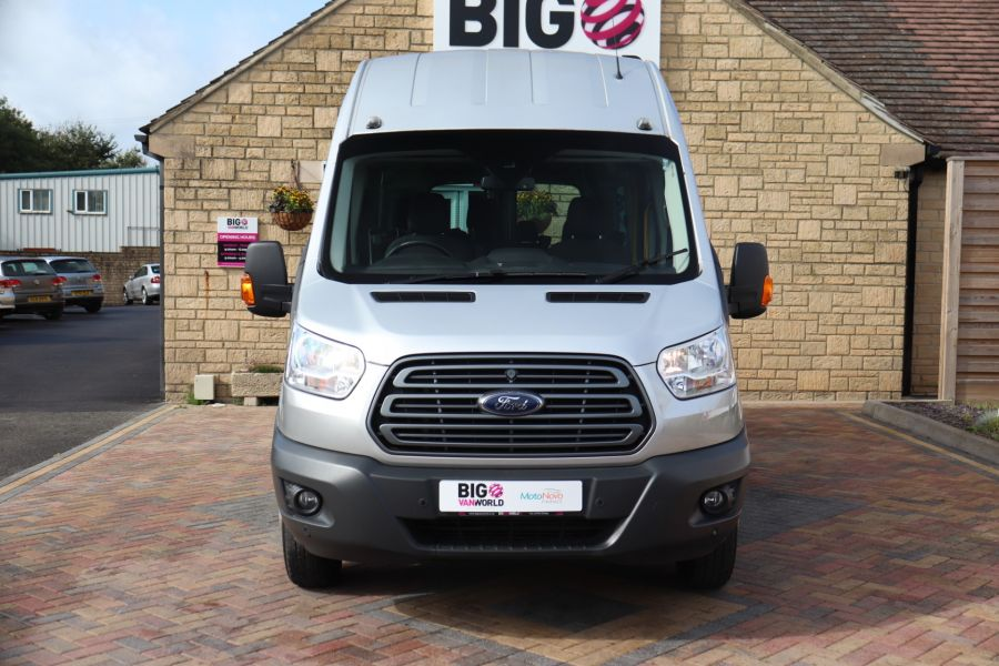 FORD TRANSIT 460 TDCI 155 L4H3 TREND 17 SEAT BUS HIGH ROOF DRW RWD - 9897 - 9