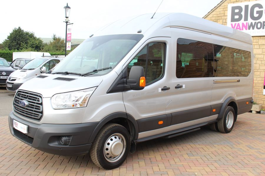 FORD TRANSIT 460 TDCI 125 L4 H3 TREND LWB HIGH ROOF 17 SEAT BUS RWD - 6563 - 8