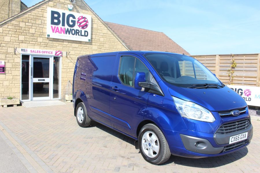 FORD TRANSIT CUSTOM 270 TDCI 155 L1 H1 LIMITED SWB LOW ROOF FWD - 9029 - 3
