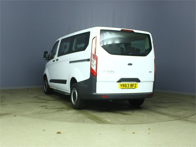 FORD TOURNEO CUSTOM 300 TDCI 100 L1 H1 8 SEAT MINIBUS SWB LOW ROOF FWD - 6983 - 4