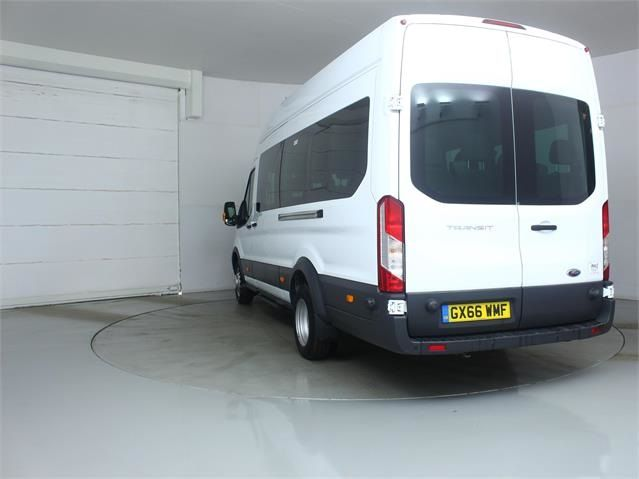 FORD TRANSIT 460 TDCI 125 L4 H3 TREND 17 SEAT BUS HIGH ROOF DRW RWD - 7579 - 4