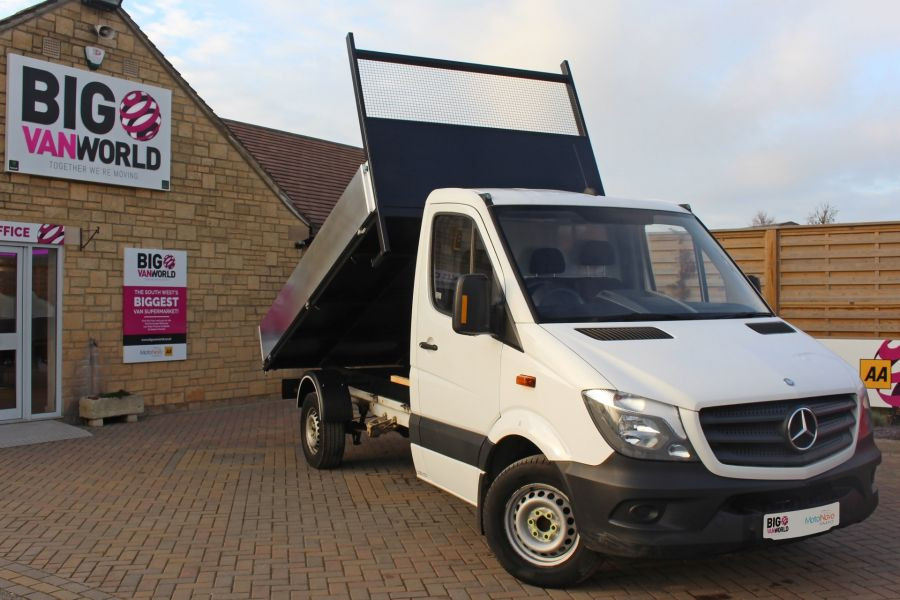 MERCEDES SPRINTER 313 CDI 129 MWB SINGLE CAB NEW BUILD ALLOY TIPPER - 9537 - 1