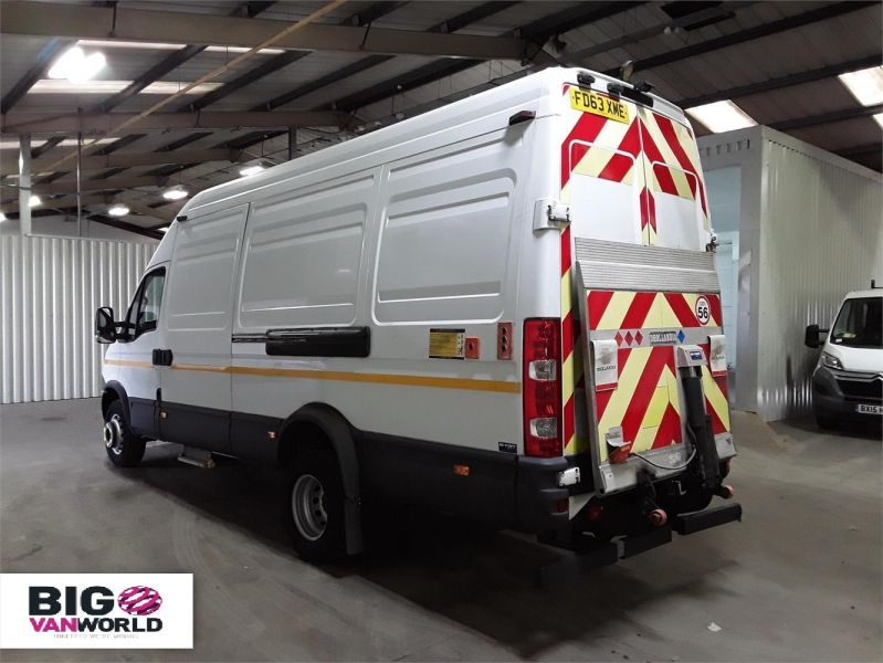 IVECO DAILY 70C17V 3.0 TD 170 LWB HIGH ROOF WITH TAIL LIFT  (14001) - 12250 - 4
