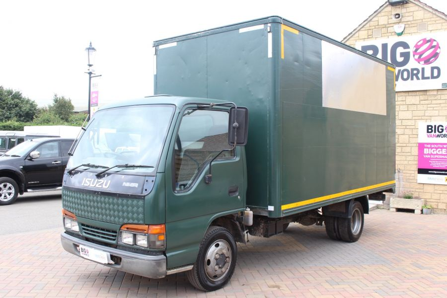 ISUZU TRUCKS NKR 77 TURBO ELECTRIC DI BOX VAN - 6361 - 6