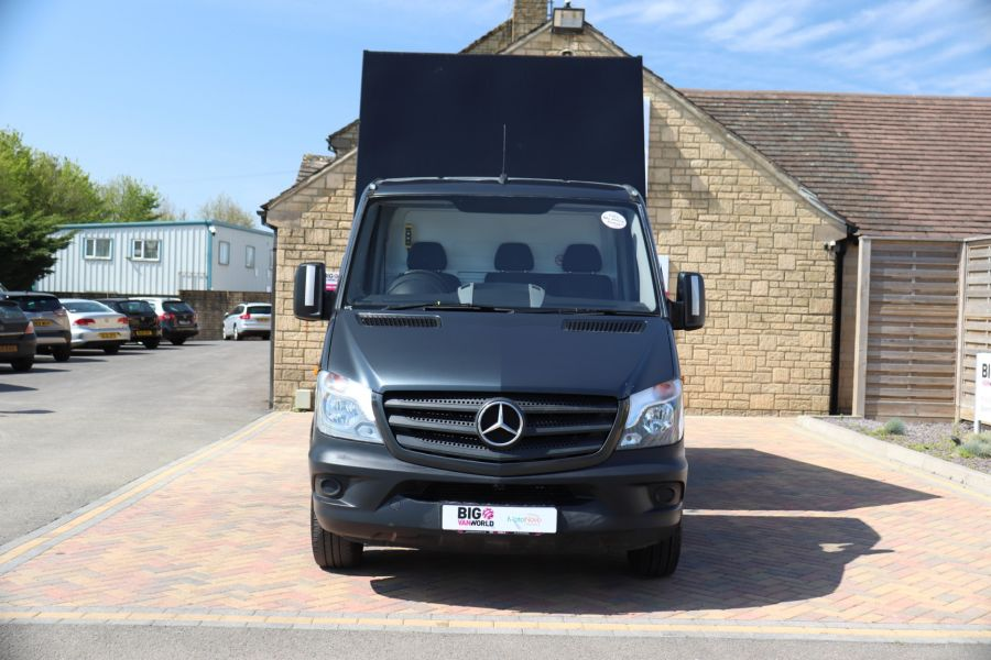 MERCEDES SPRINTER 313 CDI 129 SINGLE CAB NEW BUILD HIGH SIDED ALLOY TIPPER - 9672 - 10