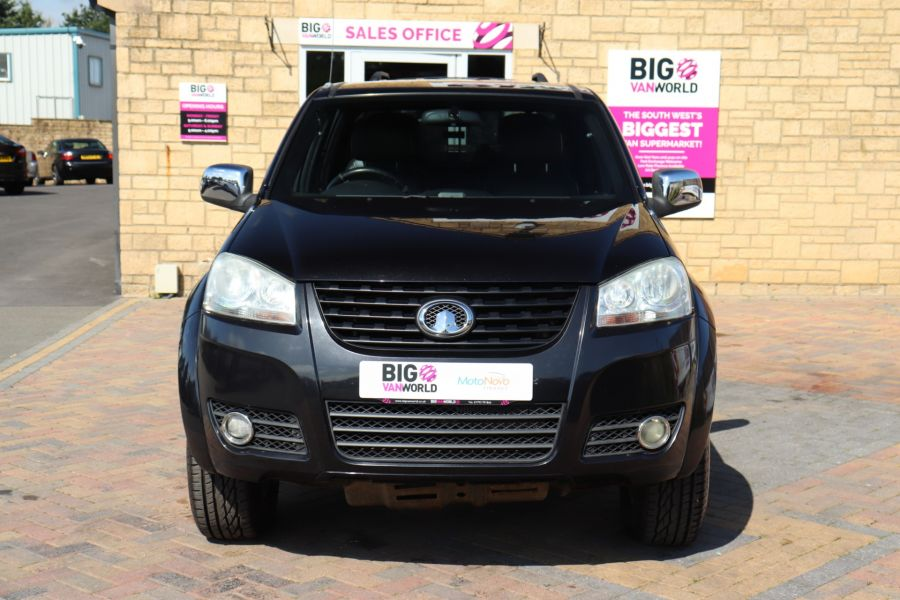 GREAT WALL STEED TD 141 SE 4X4 DOUBLE CAB WITH TRUCKMAN TOP - 9849 - 10
