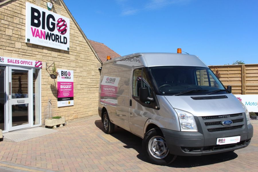 FORD TRANSIT 350 TDCI 100 MWB HIGH ROOF RWD - 6671 - 1