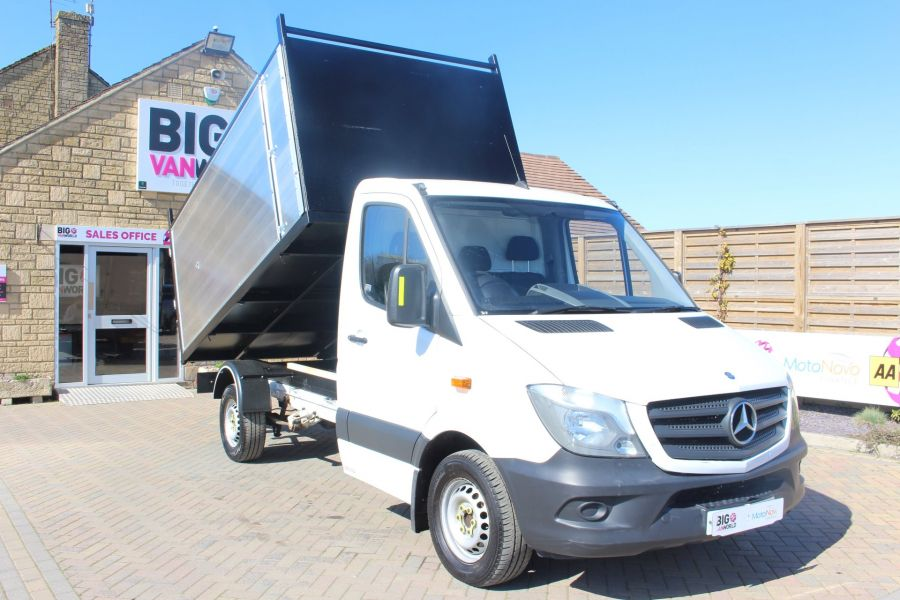 MERCEDES SPRINTER 313 CDI 129 MWB SINGLE CAB NEW BUILD ARBORIST ALLOY TIPPER - 9307 - 1