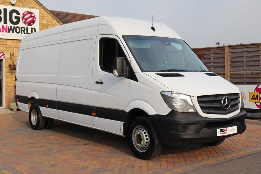 MERCEDES SPRINTER 513 CDI 129 LWB HIGH ROOF DRW - 11177 - 1