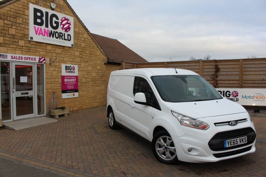 FORD TRANSIT CONNECT 240 TDCI 115 L2 H1 LIMITED LWB LOW ROOF - 8671 - 2